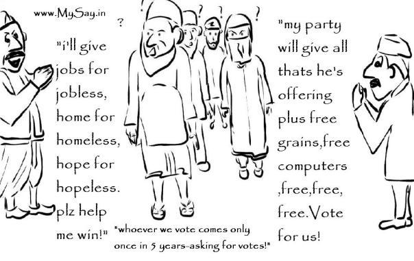 vote bank politics in india essays