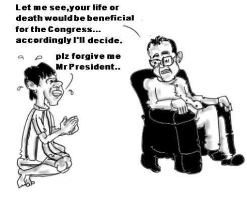 Ajmal Kasab pleading for mercy - Pranab Mukherjee