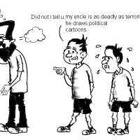 Cartoonist or Terrorist ?