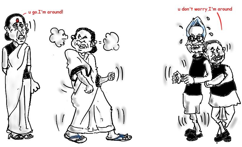 mamata banerjee image,manmohan singh image,mulayam singh image,sushma swaraj image,
