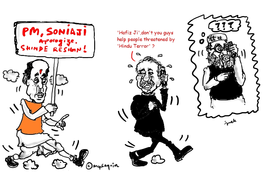 rajnath singh cartoon image,sushil kumar shinde,hafiz saeed,