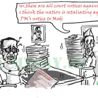 Modi served legal notice for calling PM Night Watchman