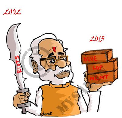 narendra modi cartoon image,