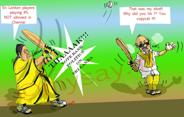 Sri Lankans playing IPL not allowed in Chennai-Jayalalitha