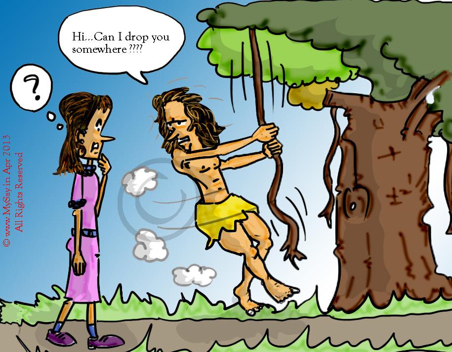 can i drop you somewhere,tarzan cartoon,mowgli cartoon,jungle boy cartoon,
