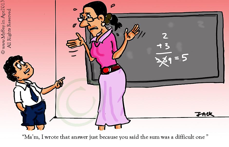 school kids cartoon, teacher cartoon,maths cartoon,