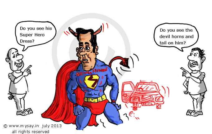 Soumyadipta Banerjee,salman khan cartoon,hit and run case,mysay.in,