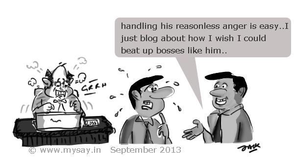 Angry Boss Comic