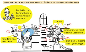 manmohan singh cartoon,sonia gandhi cartoon,silence weapon picture image,parliament jokes,political cartoon,jokes,mysay.in