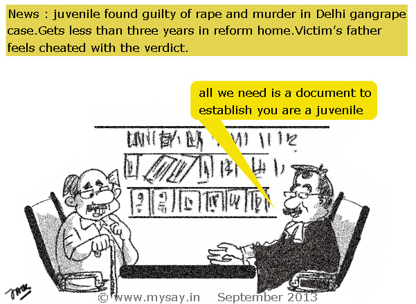 nirbhaya,juvenile gets 3 years in reform home,mysay.in,nirbhaya picture image,delhi gangrape,