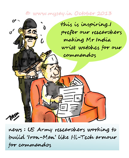 US army researchers,ironman armour,cammandos,mysay.in,cartoon pictures,