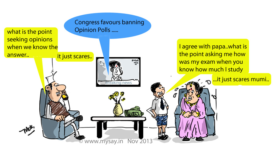 Election Commission jokes,congress jokes,mysay.in,political cartoons,opinion polls,