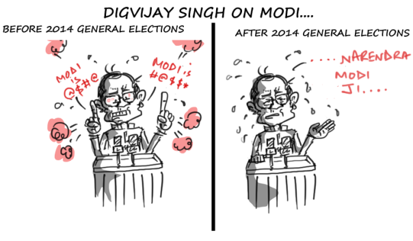 congress cartoon,general elections 2014,digvijaya singh jokes and cartoons,mysay.in,political jokes,