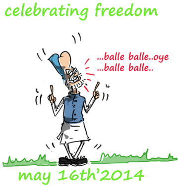manmohan singh cartoon,mysay.in,political cartoons,2014 general election cartoons,