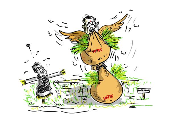 bjp cartoon,modi cartoon,haryana election results cartoon,bhupinder hooda cartoon,mysay.in,