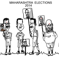 Maharashtra and Haryana assembly polls begin