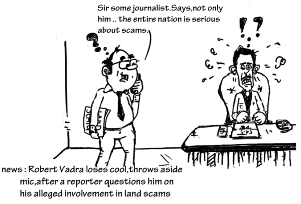 are you serious,are you nuts,robert vadra cartoon,mysay.in,