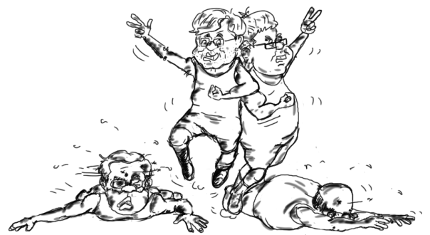 bihar elections cartoons modi vs nitish kumar