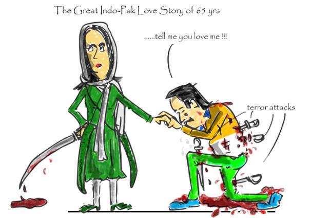 cartoon on pathankot terror attack