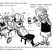 Happy 70th Independence Day | Dozing day